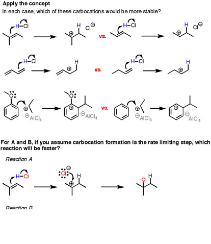3 Factors That Stabilize Carbocations