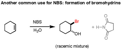N Bromosuccinimide Nbs As A Reagent In Organic Chemistry Master